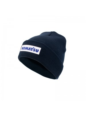 Winterhat (blue) with white badge