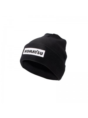 Winterhat (black) with white badge