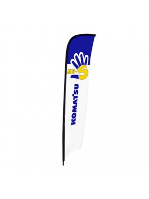 Beach flag Mr-5 90 x 280 cm