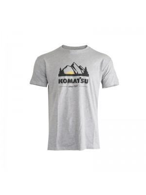 T-shirt Short Sleeves Men light grey