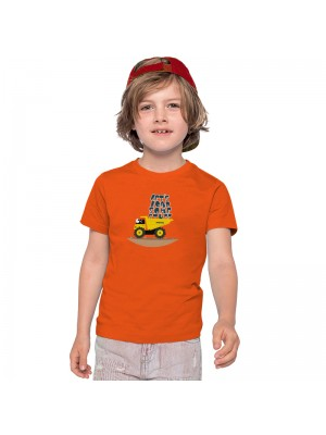 Kids T-shirt Let's load some stuff