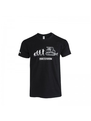 Men's Black T-Shirt Short Sleeves