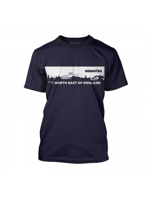 Navy t-shirt men - England