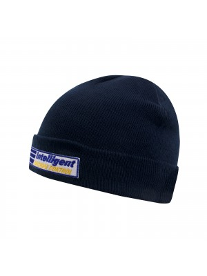 Winterhat (blue) with Intelligent badge