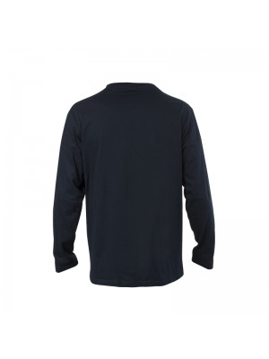 Men's Navy T-Shirt Long Sleeves