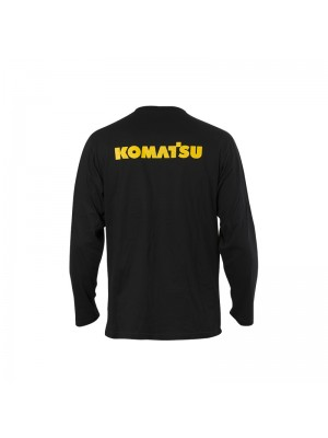Men's Black T-Shirt Long Sleeves