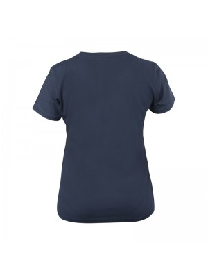 Women's Denim Blue T-shirt Short Sleeves