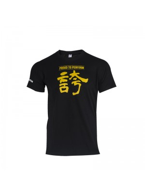 T-shirt Calligraphy black