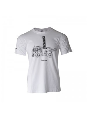 T-shirt Calligraphy white