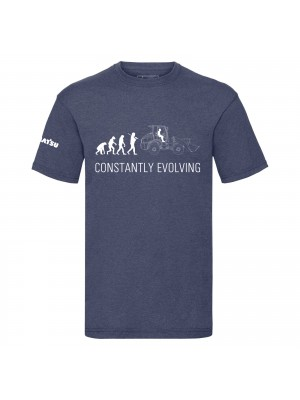 Heather Navy t-shirt men - Evolution