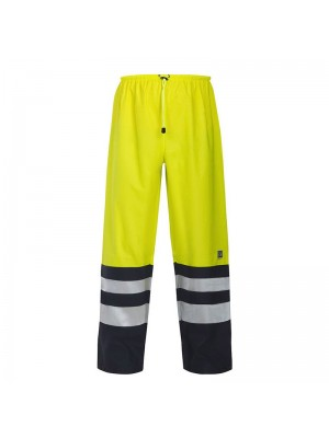 High Visibility Waterproof Work Trousers